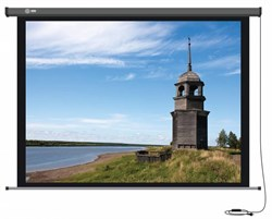 """Экран Cactus Professional Motoscreen CS-PSPM-152x203 100"""" 4:3 настенно-потолочный, моторизованный привод (152x203 см.) - фото 8464"""