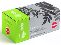 Лазерный картридж Cactus CS-TK340 (TK-340) черный для принтеров Kyocera Mita FS 2020, 2020d, 2020dn (12'000 стр.) - фото 8509