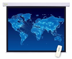 """Экран Cactus Motoscreen CS-PSM-127X127 67"""" 1:1 настенно-потолочный белый, моторизованный привод (127X127 см.) - фото 8539"""