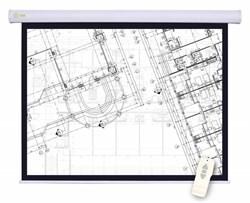"""Экран Cactus Motoscreen CS-PSM-180X180 100"""" 1:1 настенно-потолочный, моторизованный привод (180x180 см.) - фото 8544"""