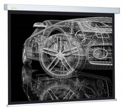 """Экран Cactus Wallscreen CS-PSW-213x213 123"""" 1:1 настенно-потолочный рулонный белый - фото 8548"""