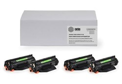 Комплект лазерных картриджей Cactus CS-CB540/CE320/CF210 (125A/128A/131A) для принтеров HP Color LaserJet 1215, 1515, M651, M251 (2'200 стр.) - фото 8638