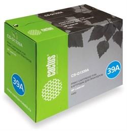 Лазерный картридж Cactus CS-Q1339AR (HP 39A) черный для HP LaserJet 4300, 4300dtn, 4300dtns, 4300dtnsl, 4300n, 4300tn (18'000 стр.) - фото 8670