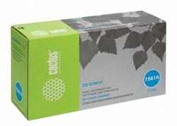 Лазерный картридж Cactus CS-Q7561AR (HP 314A) голубой для HP Color LaserJet 2700, 2700n, 3000, 3000dn, 3000dtn, 3000n (3'500 стр.) - фото 8743