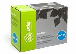 Лазерный картридж Cactus CS-C8061XR (HP 61X) черный увеличенной емкости для HP LaserJet 4100, 4100DTN, 4100MFP, 4100N, 4100TN, 4101, 4101 MFP (10'000 стр.) - фото 8752