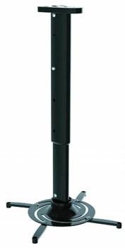 Кронштейн для проектора Cactus CS-VM-PR05L-BK черный настенно-потолочный с дистанцией до потолка/стены 470-710 мм (нагрузка до 10 кг.) - фото 8768