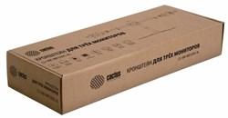 """Кронштейн для мониторов Cactus CS-VM-MP330S-AL серебристый 15""""-24"""" макс.8кг настольный наклон - фото 8799"""
