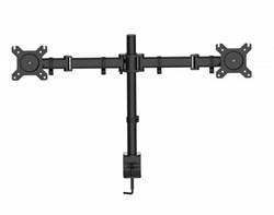 """Кронштейн для мониторов Cactus CS-VM-D29-BK черный 13""""-27"""" макс.10кг настольный поворот и наклон - фото 8807"""
