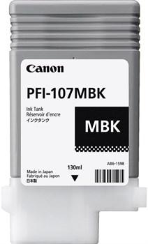 Струйный картридж Cactus CS-PFI107MBK (PFI-107) черный матовый для Canon ImagePrograf iPF670, iPF670 MFP L24, iPF680, iPF681, iPF685, iPF686, iPF770, iPF770 MFP L36, iPF780, iPF780 MFP M40, iPF781, iPF785, iPF785 MFP M40, iPF786 (130 мл) - фото 8823