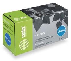 Лазерный картридж Cactus CS-CE260AV (HP 647A) черный для HP Color LaserJet CM4540 MFP, CM4540f MFP, CM4540fskm MFP, CM4540 MFP, CP4020, CP4025, CP4025dn, CP4025n, CP4520, CP4525, CP4525dn, CP4525n, CP4525xh (8'500 стр.) - фото 8845