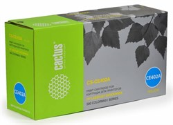 Лазерный картридж Cactus CS-CE402AV (HP 507A) желтый для HP Color LaserJet M551, M551dn Enterprise (CF082A), M551n Enterprise, M551xh Enterprise 500, M570, M570dn, M570dw, M575, M575dn Enterprise, M575f Enterprise (6'000 стр.) - фото 8904