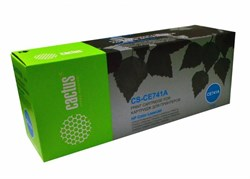 Лазерный картридж Cactus CS-CE741AV (HP 307A) голубой для HP Color LaserJet CP5220, CP5221, CP5221dn, CP5221n, CP5223, CP5223dn, CP5223n, CP5225dn, CP5225n, CP5225xh, CP5227, CP5227dn, CP5227n, CP5229 (7'300 стр.) - фото 8967