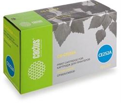 Лазерный картридж Cactus CS-CE252AV (HP 504A) желтый для HP Color LaserJet CM3530, CM3530fs, CM3530fs MFP, CP3520, CP3525, CP3525dn (7'000 стр.) - фото 8982
