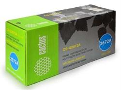 Лазерный картридж Cactus CS-Q2672AR (HP 309A) желтый для HP Color LaserJet 3500, 3500n, 3550, 3550n (4'000 стр.) - фото 9027