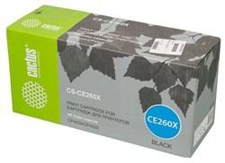 Лазерный картридж Cactus CS-CE260XR (HP 649X) черный увеличенной емкости для HP Color LaserJet CP4520, CP4525, CP4525dn, CP4525n, CP4525xh (17'000 стр.) - фото 9037