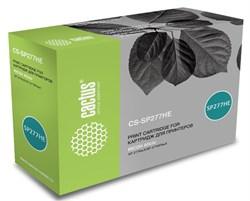 Лазерный картридж Cactus CS-SP277HE (SP 277HE) черный для Ricoh Aficio SP 277NwX, SP 277SFNwX, SP 277SNwX (2'600 стр.) - фото 9072