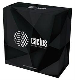 Пластик для принтера 3D Cactus CS-3D-PLA-750-BLACK PLA d1.75мм 0.75кг 1цв. - фото 9087