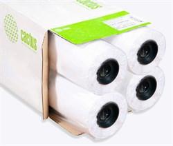 """Бумага универсальная Cactus Eco CS-LFP80-610457E-4 24""""(A1) 610мм-45м, 80г/м2, втулка: 50.8мм (2"""") (упак. 4 рул.) - фото 9132"""