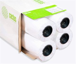 "Бумага Cactus Eco CS-LFP80-914457E-4 36""(A0) 914мм-45.7м, 80г/м2, белая, втулка: 50.8мм (2"") (упак. 4 рул.) - фото 9133"
