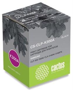 Лазерный картридж Cactus CS-CLP-K300A (CLP-K300A) черный для Samsung CLP 300, 300n; CLX 2160, 2160n, 2160x, 2161k, 2161kn, 3130, 3130n, 3160, 3160fn, 3160n (2'000 стр.) - фото 9158