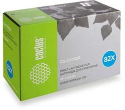 Лазерный картридж Cactus CS-C4182XV (HP 82X) черный увеличенной емкости для HP LaserJet 8100, 8100dn, 8100 MFP, 8100n, 8150, 8150dn, 8150hn, 8150 MFP, 8150n, Mopier 320 (20'000 стр.) - фото 9234