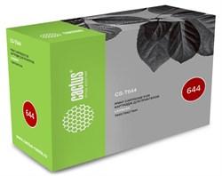 Лазерный Картридж Cactus CS-T644 (64016HE) черный увеличенной емкости для Lexmark Optra T640, T640dn, T640dtn, T640n, T640tn, T642, T642dn, T642dtn, T642n, T642tn, T644, T644dn, T644dtn, T644n (21'000 стр) - фото 9241