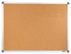 Демонстрационная доска Cactus CS-CBD-45X60 (45x60 см.) пробковая, алюминиевая рама - фото 9281