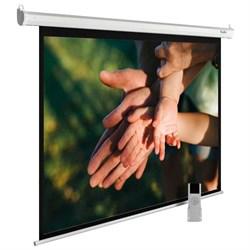 """Экран Cactus MotoExpert CS-PSME-280X280-WT 150"""" 1:1 настенно-потолочный белый, моторизованный привод (280x280 см.) - фото 9333"""
