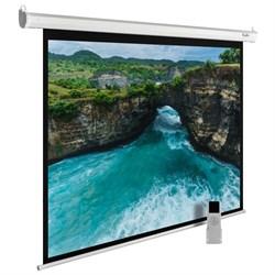 """Экран Cactus MotoExpert CS-PSME-200x150-WT 99"""" 4:3 настенно-потолочный белый, моторизованный привод (200x150 см.) - фото 9334"""