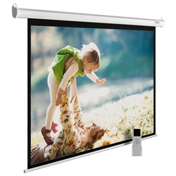 """Экран Cactus MotoExpert CS-PSME-240x150-WT 110"""" 16:10 настенно-потолочный белый, моторизованный привод (240x150 см.) - фото 9336"""