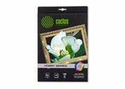 Фотобумага Cactus CS-DA419010L A4, 190г/м2, 10л., белый матовое лён для струйной печати