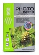 Фотобумага Cactus CS-MA6230500 10x15, 230г/м2, 500л, белая матовая для струйной печати