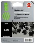 Струйный картридж Cactus CS-CLI426BK (CLI-426Bk) фото черный для Canon Pixma iP4840, iP4940, iX6540, MG5140, MG5240, MG5340, MG6140, MG6240, MG8140, MG8240, MX714, MX884, MX894 (8,4 мл)