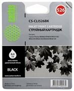 Струйный картридж Cactus CS-CLI526BK (4540B001) черный для Canon Pixma MX885, IP4850, MG5150, MG5250, MG6150, IX6550, MG8150 (500 стр.)
