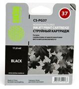 Струйный картридж Cactus CS-PG37 (2145B005) черный для Canon Pixma iP1800, iP1900, iP2500, iP2600, MP140, MP190, MP210, MP220, MP470, MX300 (220 стр.)