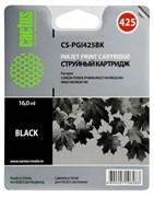 Струйный картридж Cactus CS-PGI425BK (4532B001) черный для Canon Pixma iP4840, iP4940, iX6540, MG5140, MG5240, MG5340, MG6140, MG6240, MG8140, MG8240, MX714, MX884, MX894 (350 стр.)