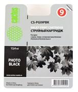 Струйный картридж Cactus CS-PGI9PBK (PGI-9PBK) фото черный для принтеров Canon Pixma iX7000, MX7600, PRO 9500, PRO9500 Mark II (650 стр.)