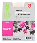 Струйный картридж Cactus CS-PGI9R (PGI-9R) красный для принтеров Canon Pixma iX7000, MX7600, PRO 9500, PRO9500 Mark II (650 стр.)