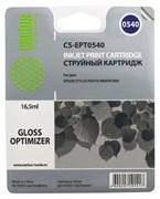 Струйный картридж Cactus CS-EPT0540 (C13T05404010) глянцевый для принтеров Epson Stylus Photo R800, R1800 (16.5 мл)