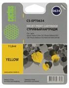 Струйный картридж Cactus CS-EPT0634 (T0634) желтый для принтеров Epson Stylus C67, C87, CX3700, CX4100, CX4700 (10 мл.)