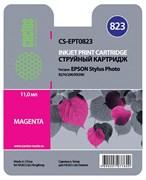 Струйный картридж Cactus CS-EPT0823 (T0823) пурпурный для принтеров Epson Stylus Photo R270, R290, R295, R390, RX590, RX610, RX690, T50, T59, TX659, TX800fw (13,8 мл.)