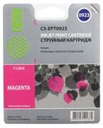 Струйный картридж Cactus CS-EPT0923 (T0923) пурпурный для принтеров Epson Stylus C91, C240, CX4300, T26, T27, TX106, TX109, TX117, TX119 (6,6 мл.)
