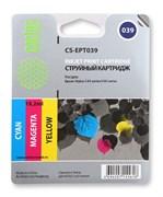 Струйный картридж Cactus CS-EPT039 (C13T03904A10) цветной для принтеров Epson Stylus C43, C46 (180 стр.)