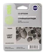 Струйный картридж Cactus CS-EPT0599 (C13T05994010) светло-серый для принтеров Epson Stylus Photo R2400 (440 стр.)