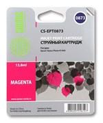 Струйный картридж Cactus CS-EPT0873 (C13T08734010) пурпурный для принтеров Epson Stylus Photo R1900 (13,8 мл.)