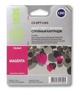 Струйный картридж Cactus CS-EPT1293 (T1293) пурпурный для принтеров Epson Stylus SX230, SX420w, SX430w, SX440w, SX525wd, SX535wd, Stylus Office B42wd, BX305f, BX320fw, BX625fwd, BX635fwd, WF 3520dwf, WF 7015 (10мл.)