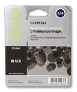 Струйный картридж Cactus CS-EPT264 (T026) черный для принтеров Epson Stylus C50, Photo 810, 820, 830, 830U, 925, 935 (12.6 мл)