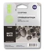 Струйный картридж Cactus CS-EPT968 (C13T09684010) черный матовый для принтеров Epson Stylus Photo R2880 (13 мл.)
