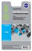 Струйный картридж Cactus CS-EPT7012 (T7012) голубой для принтеров Epson WorkForce Pro WF-4015, WF-4020, WF-4025, WF-4095, WF-4515, WF-4525, WF-4535, WF-4545, WF-4595 (3'400 стр.)