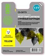 Струйный картридж Cactus CS-C8773 (177 Y) желтый для HP PhotoSmart 3100, 3210, 3213, 3310, 3313, C5183, C6100, C6183, C6200, C6283, C7183, C7200, C7280, C7283, C8183, D7100, D7160, D7163, D7300, D7363, D7463 (11,4 мл.)